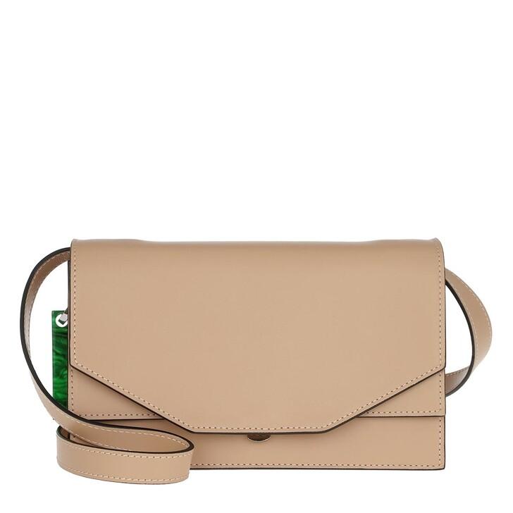 Handtasche, GANNI, Crossbody Bag Calf Leather Tannin