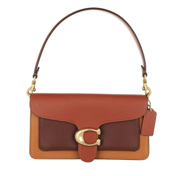 Handtasche, Coach, Colorblock Tabby Shoulder Bag 26 Rust Multi