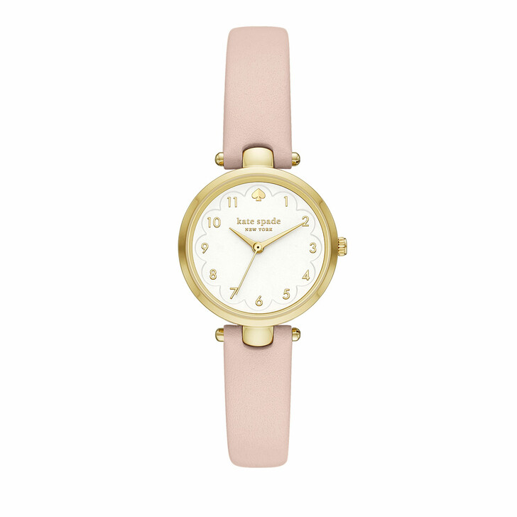 Uhr, Kate Spade New York, Holland three-hand leather watch Pink/Rose
