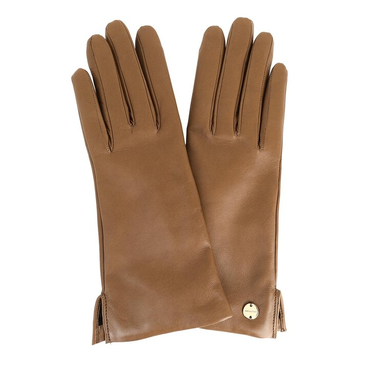 gloves, Coccinelle, Gloves Leather  Brown