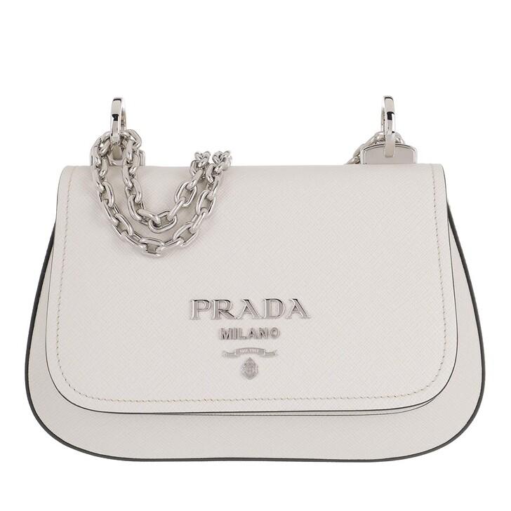 Handtasche, Prada, Medium Crossbody Bag Talco