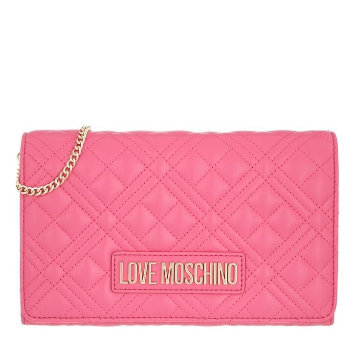 Handtasche, Love Moschino, Borsa Quilted Nappa Pu Fuxia