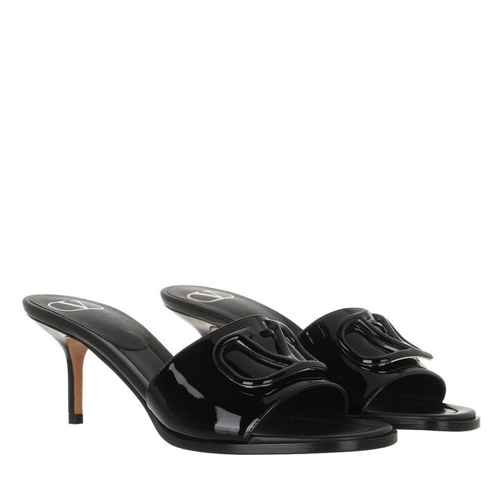 shoes, Valentino Garavani, Sandals Black