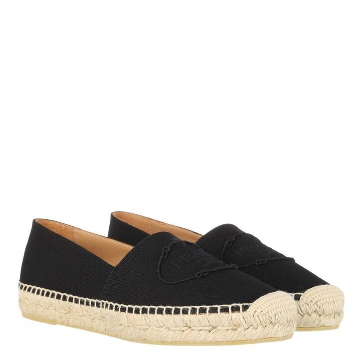 Schuh, Prada, Espadrilles Black