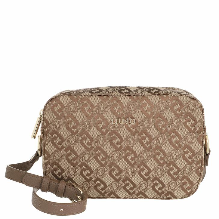 bags, LIU JO, S Crossbody Tortoise Shell