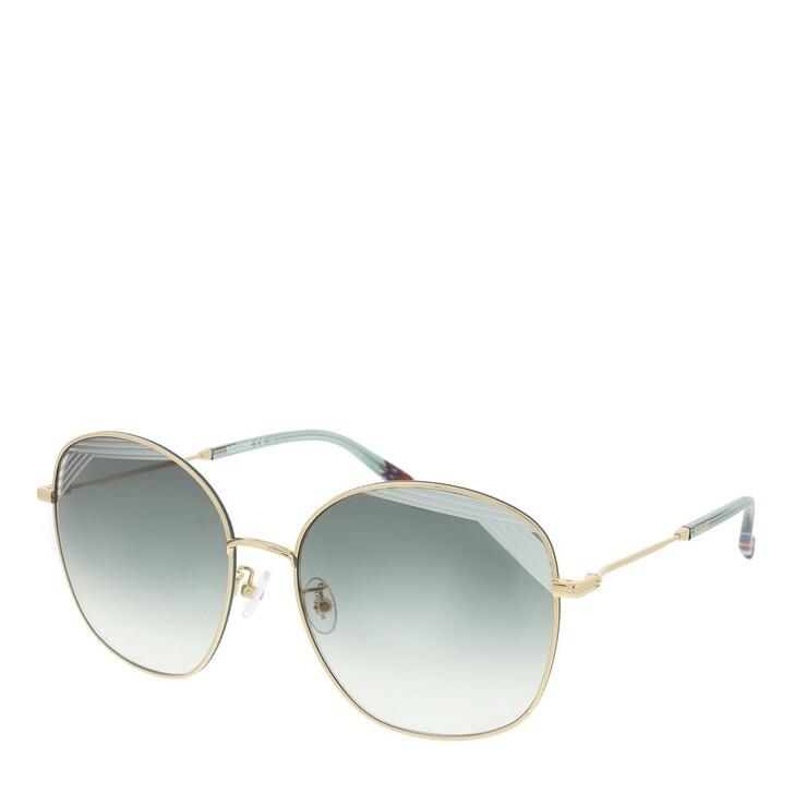Sonnenbrille, Missoni, MIS 0014/S Gold Green