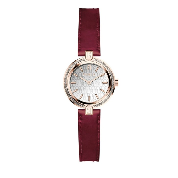Uhr, Furla,  Logo Links Watch Red