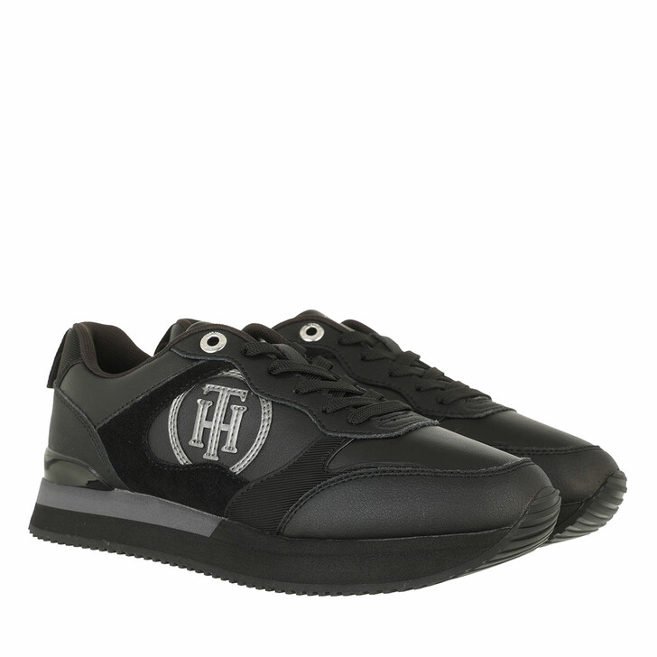 shoes, Tommy Hilfiger, Feminine Active City Sneaker Black