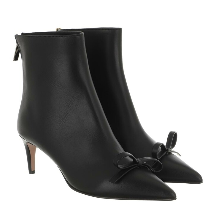 shoes, Red Valentino, High Bootie Black