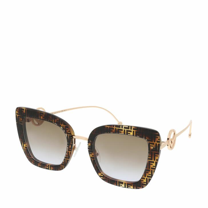 sunglasses, Fendi, FF 0408/S Sunglasses Dark Havana