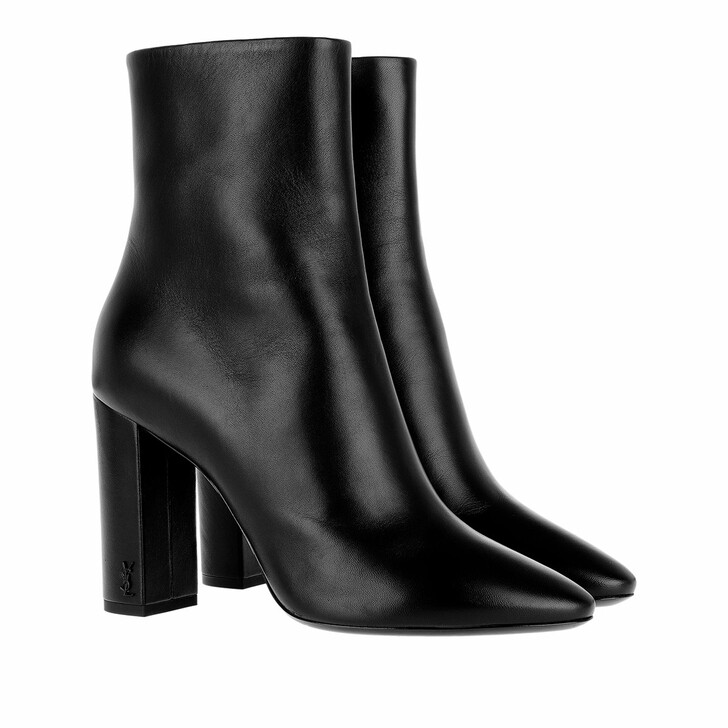 Schuh, Saint Laurent, Lou 95 Boots Leather Black