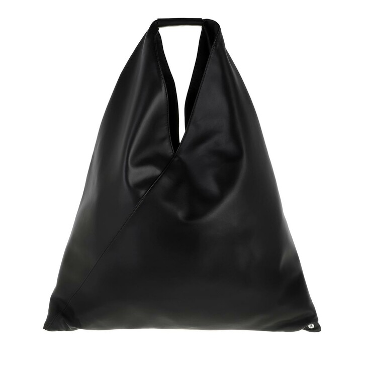 Handtasche, MM6 Maison Margiela, Classic Japanese Hobo Bag Black
