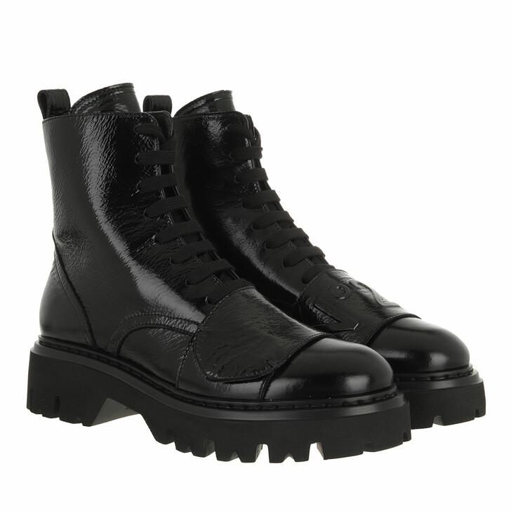 shoes, N°21, Boots Black