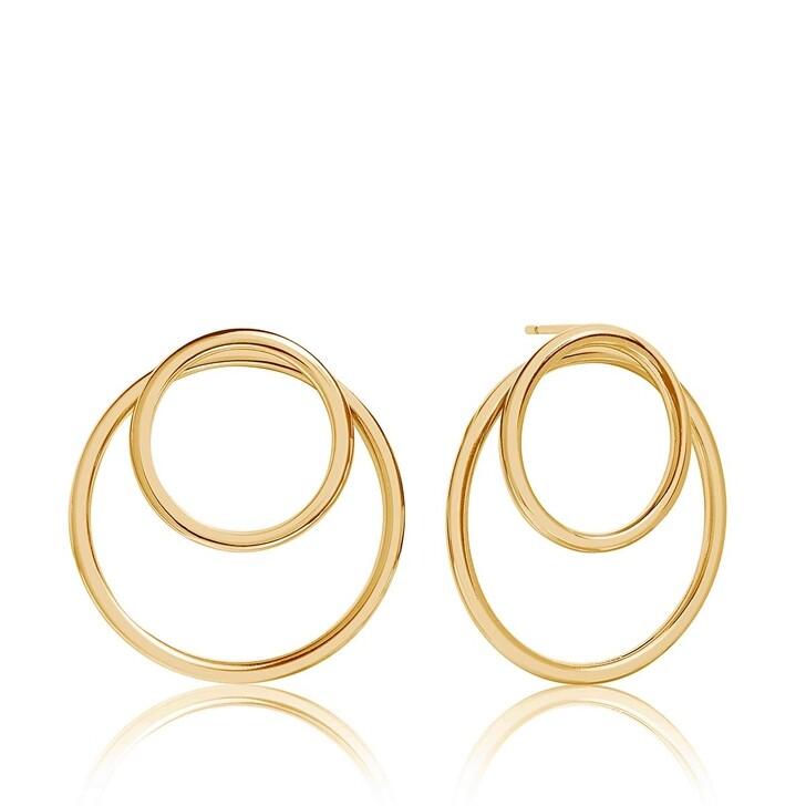 Ohrring, Sif Jakobs Jewellery, Valenza Pianura Earrings 18K Gold Plated