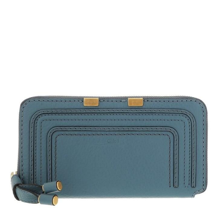 wallets, Chloé, Marcie Portefeuille Mirage Blue