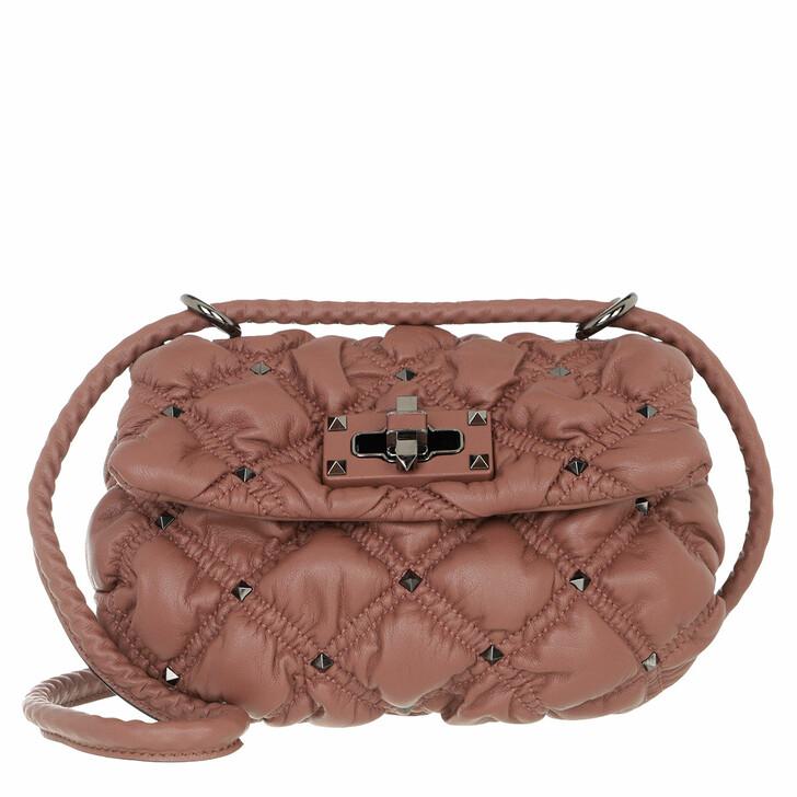 bags, Valentino Garavani, Small Crossbody Bag Dark Nude