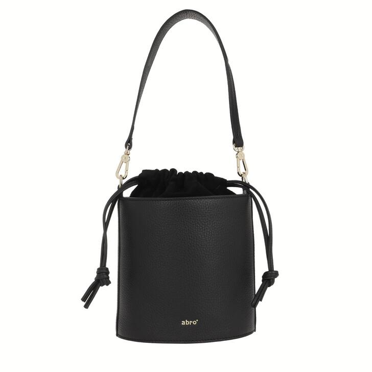 Handtasche, Abro, Drawstring Bag Zoey Black