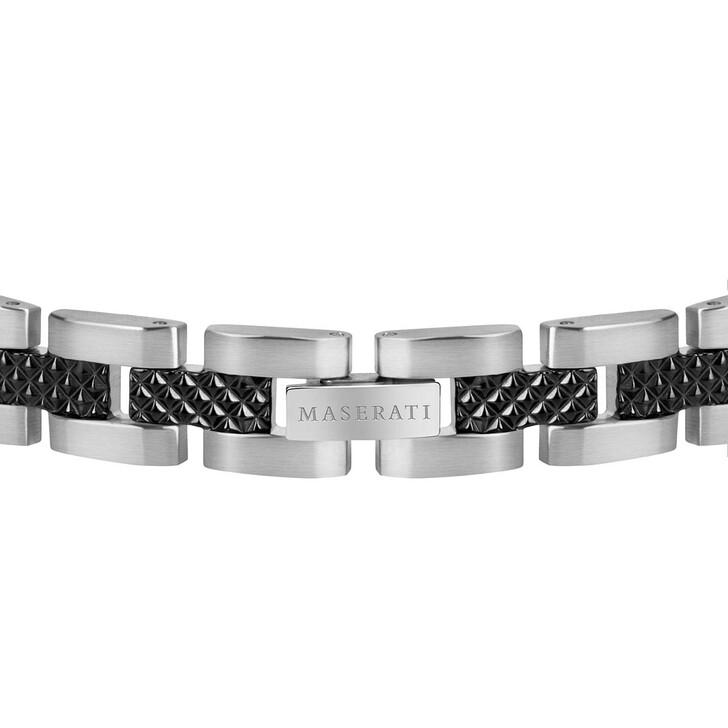 Armreif, Maserati, Bracelet Ss+d.gun Black