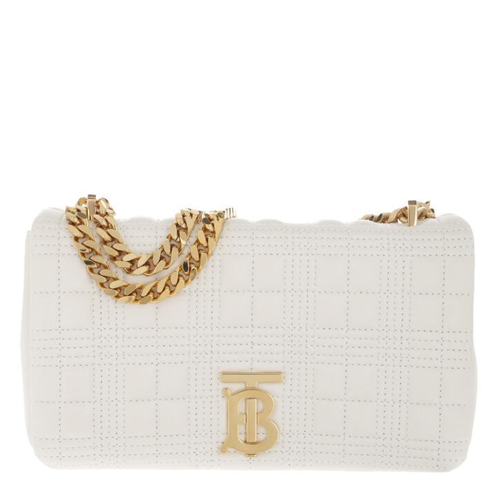 Handtasche, Burberry, Lola Small Crossbody Bag White
