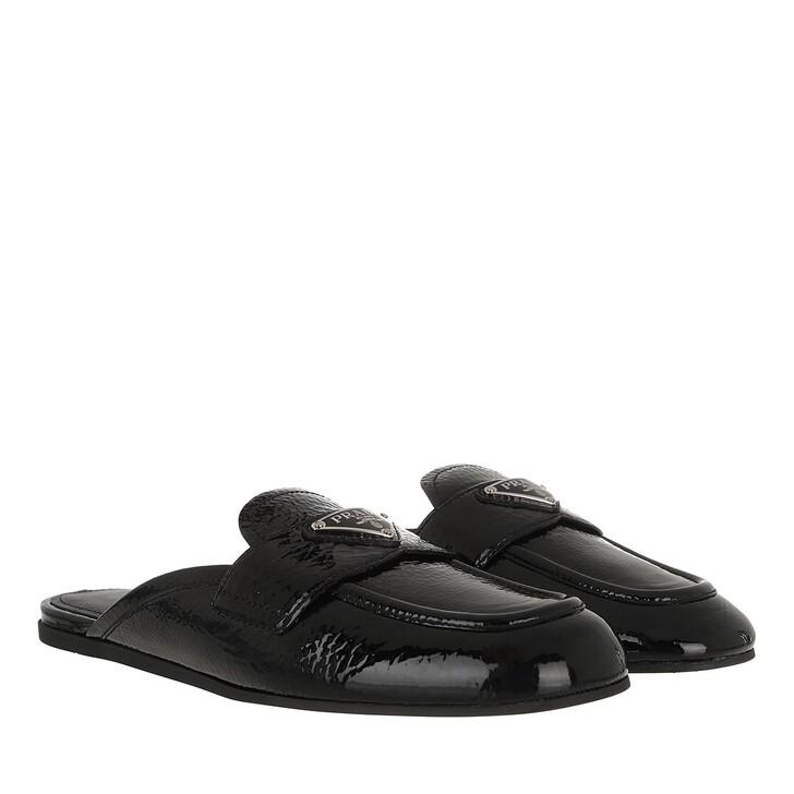 Schuh, Prada, Slipper Black