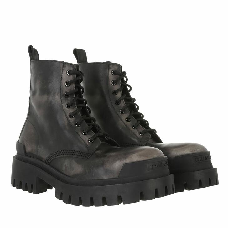 shoes, Balenciaga, Boots Black