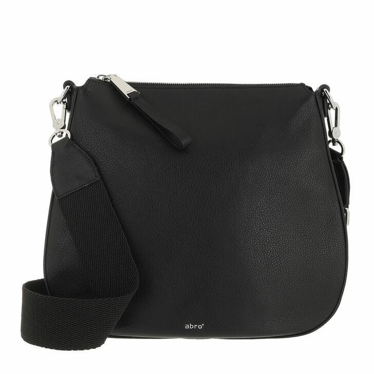 bags, Abro, Crossbody Bag TAMA  Black/Nickel