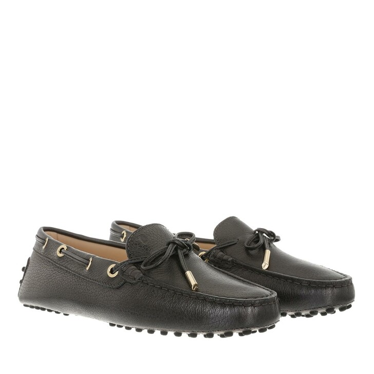 Schuh, Tod's, Gommino Loafer Leather Dark Grey
