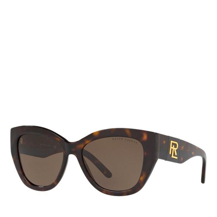 Sonnenbrille, Ralph Lauren, 0RL8175 Shiny Dark Havana