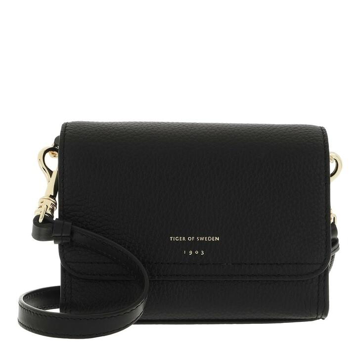 bags, Tiger of Sweden, Ravea Small Leather Handbag Black