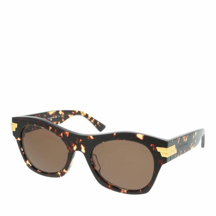 Sonnenbrille, Bottega Veneta, BV1103S-002 54 Sunglass UNISEX ACETATE HAVANA
