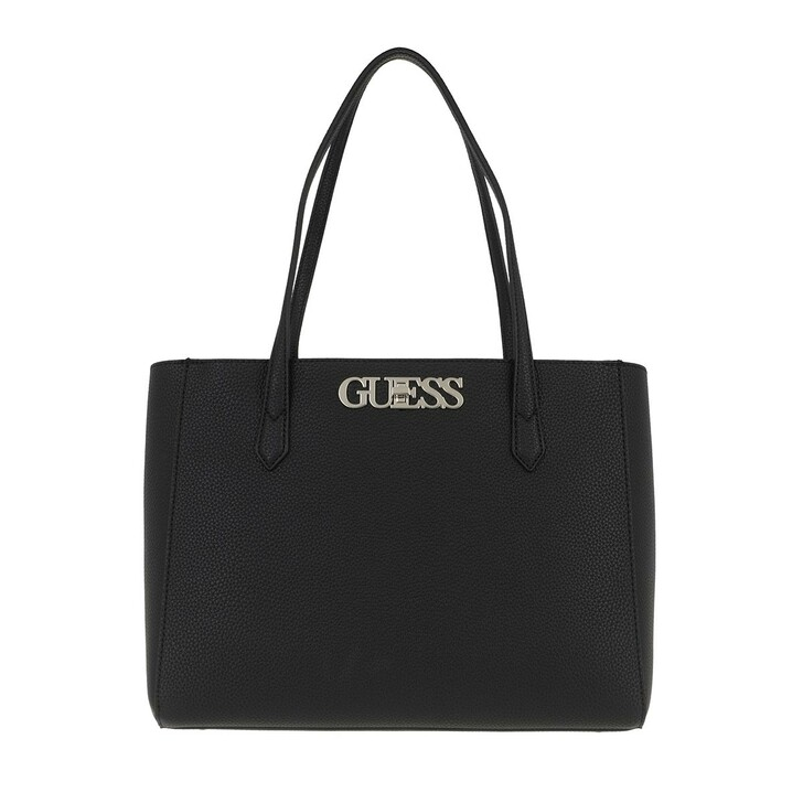 Handtasche, Guess, Uptown Chic Elite Tote Black