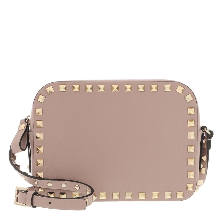 Handtasche, Valentino Garavani, Rockstud Crossbody Bag Poudre