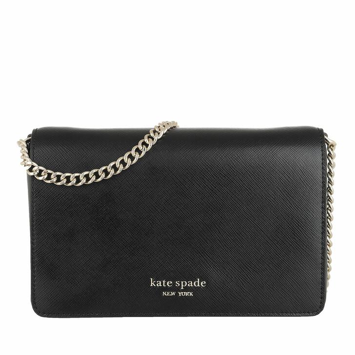 Geldbörse, Kate Spade New York, Chain Wallet Black
