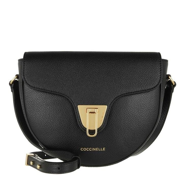 bags, Coccinelle, Beat Soft Handbag Bottalatino Leather Noir