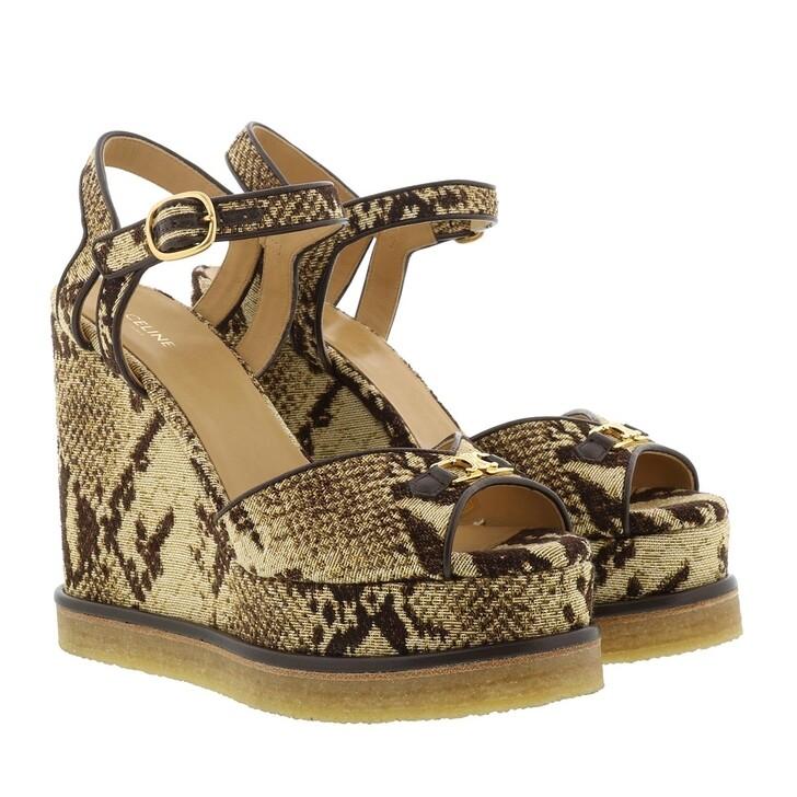 Schuh, Celine, Manon Wedge Sandals Sand