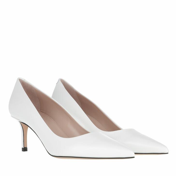 shoes, Hugo, Ines Pump  White