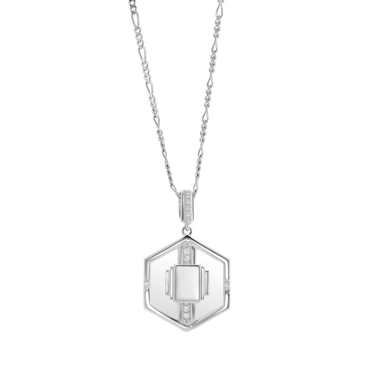 Kette, V by Laura Vann, Goldie Glass Necklace Silver