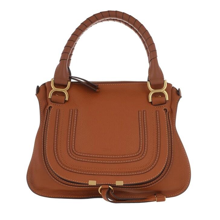 bags, Chloé, Marcie Medium Shoulder Bag Tan