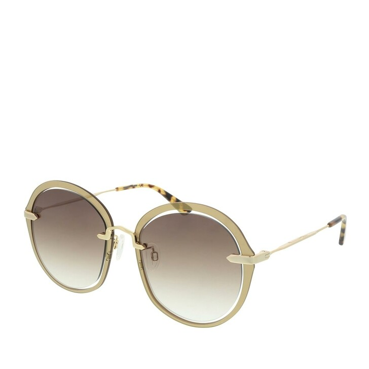 Sonnenbrille, McQ, MQ0282S-002 54 Sunglass WOMAN METAL Gold