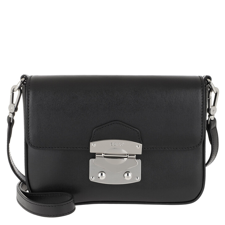 Handtasche, Abro, Crossbody Bag Maya Black/Nickel