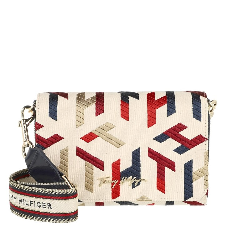 bags, Tommy Hilfiger, Iconic Tommy Crossover Mono Embr Corporate Embroidered