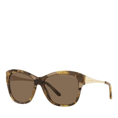 ralph lauren -  Sonnenbrille - 0RL8187 - in braun - für Damen