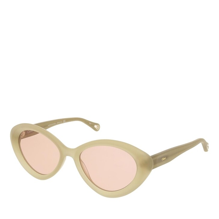 sunglasses, Chloé, CH0050S-002 53 Sunglass Woman Bio Acetate Green-Green-Brown