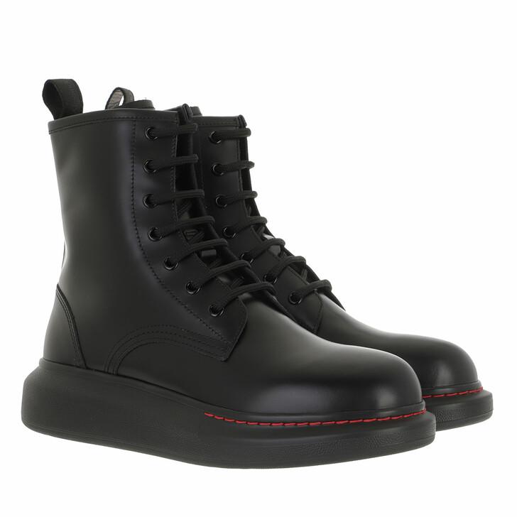 shoes, Alexander McQueen, Hybrid Boots Black/Black