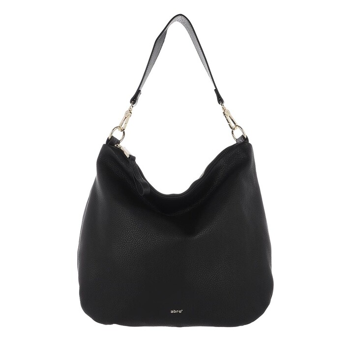 Handtasche, Abro, Hobo Bag Erna Small Black