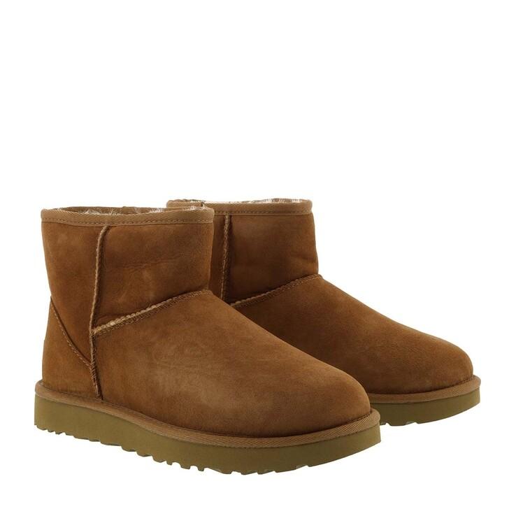 shoes, UGG, Classic Mini Boot Chestnut