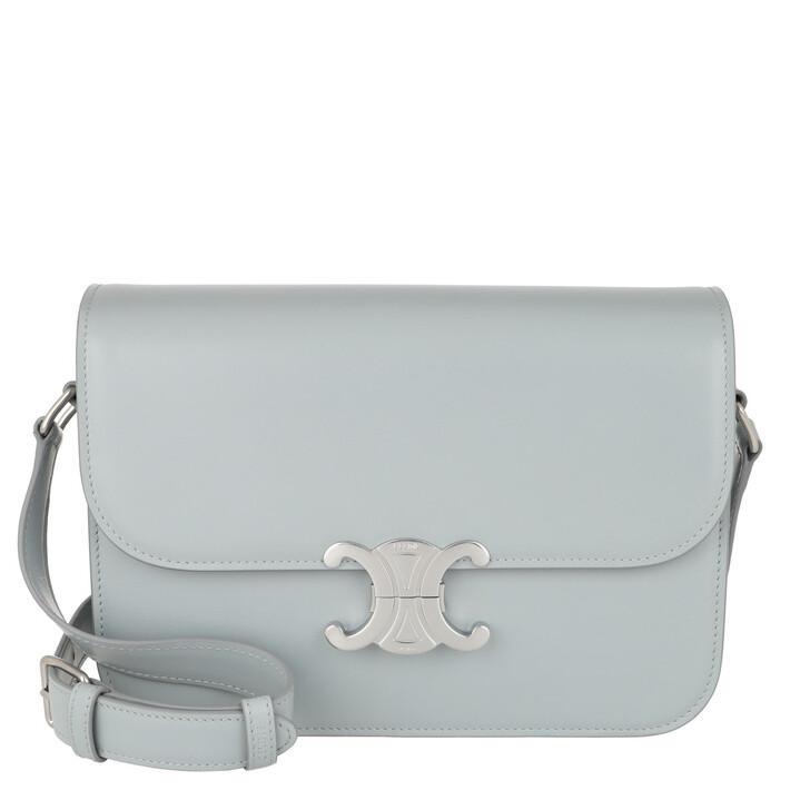Handtasche, Celine, Medium Triomphe Bag Shiny Calfskin Mineral