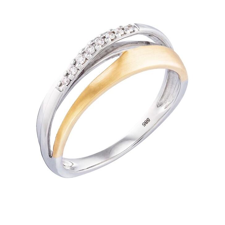 rings, BELORO, Ring Diamonds Gold/White Gold