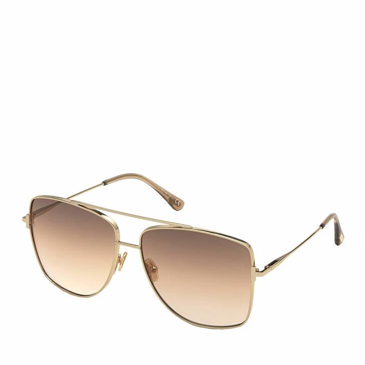 sunglasses, Tom Ford, FT0838 Rose Gold/Violet
