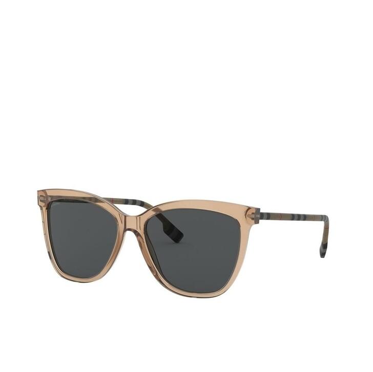 sunglasses, Burberry, Women Sunglasses Classic Reloaded 0BE4308 Transparent Brown